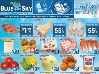 Blue Sky Supermarket (Pickering) Flyer
