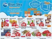 Blue Sky Supermarket (Wilson) Flyer