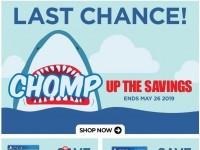 EB Games (Chomp Up The Savings) Flyer