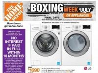 Home Depot (Boxing Week In July - Atlantic) Flyer