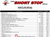 Little Short Stop Stores (Hot Deal) Flyer