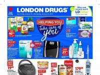 London Drugs (Helping You) Flyer