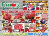 Pino's (Low Prices Every Week) Flyer