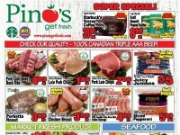 Pino's (Super Special) Flyer