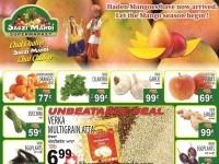 Sabzi Mandi Supermarket (Happy Holi) Flyer