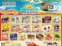 Sunny Foodmart (Super Deal - Markham Store) Flyer