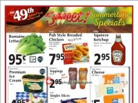 The 49th Parallel Grocery (Sweet Summertime Specials) Flyer