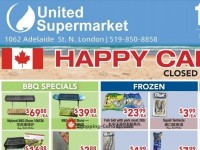 United Supermarket (Happy Canada Day) Flyer