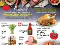 Village Food Market (Special Offer) Flyer