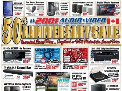 2001 Audio Video Outdated Flyer Thumbnail