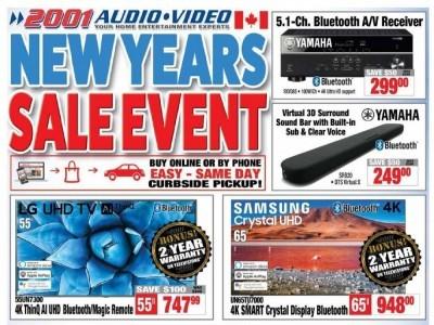 2001 Audio Video Flyer Thumbnail