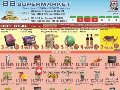 88 Supermarket Flyer Thumbnail