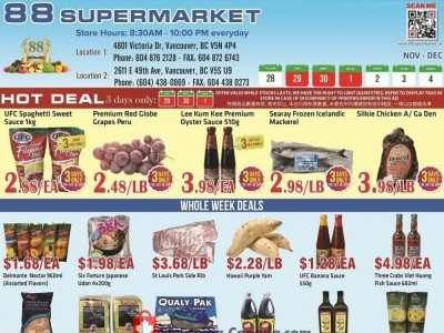 88 Supermarket Outdated Flyer Thumbnail