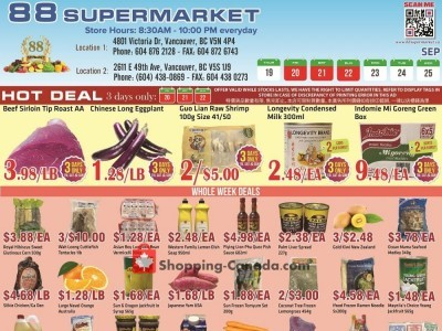 88 Supermarket Flyer Thumbnail