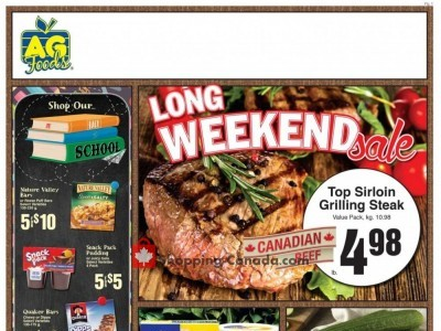 AG Foods Outdated Flyer Thumbnail