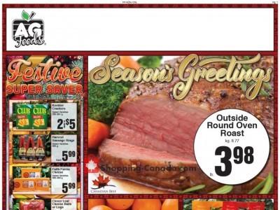 AG Foods Flyer Thumbnail