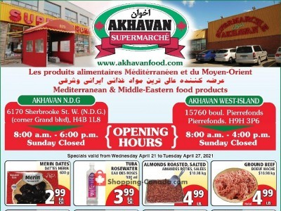 Akhavan Food Supermarche Flyer Thumbnail