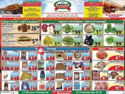 Akhavan Food Supermarche Flyer Thumbnail