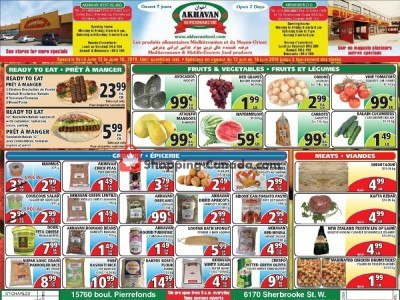 Akhavan Food Supermarche Outdated Flyer Thumbnail