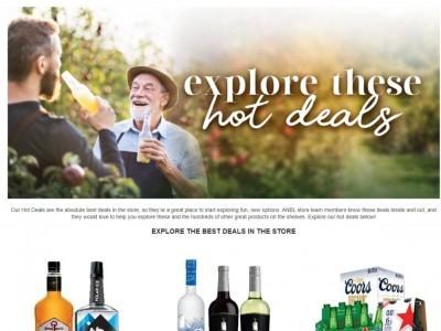 Alcool NB Liquor Flyer Thumbnail