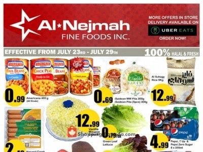 Alnejmah Outdated Flyer Thumbnail