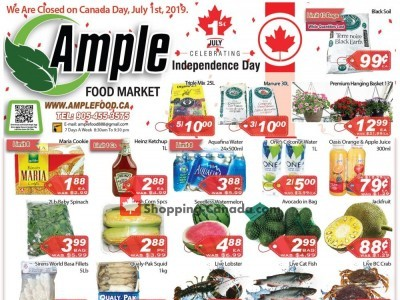 Ample Food Market Flyer Thumbnail