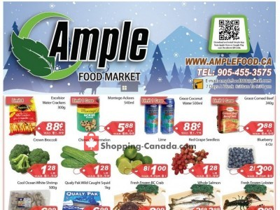 Ample Food Market Outdated Flyer Thumbnail