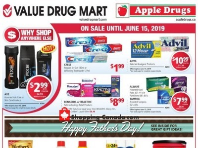Apple Drugs Outdated Flyer Thumbnail