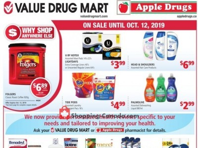Apple Drugs Flyer Thumbnail