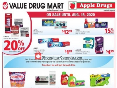 Apple Drugs Flyer Thumbnail