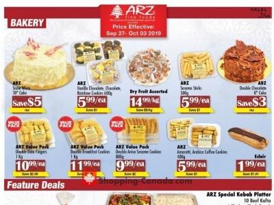 Arz Fine Foods Flyer Thumbnail