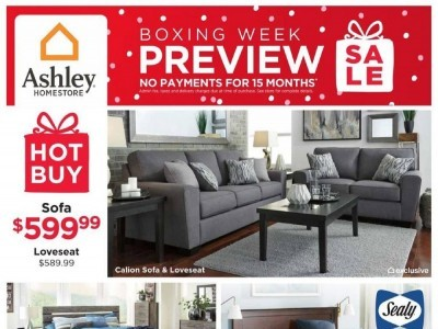 ASHLEY HOMESTORE Outdated Flyer Thumbnail