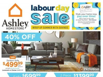 ASHLEY HOMESTORE Flyer Thumbnail