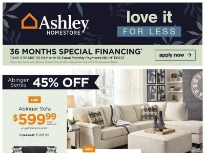 ASHLEY HOMESTORE Flyer Thumbnail
