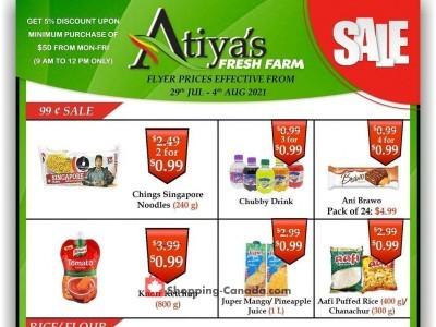 Atiya's Fresh Farm Flyer Thumbnail