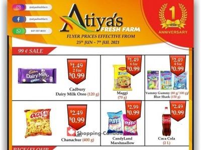 Atiya's Fresh Farm Outdated Flyer Thumbnail