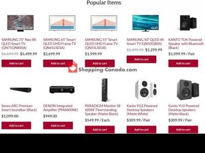 Audio Video Unlimited Flyer Thumbnail