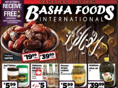 Basha Foods International Flyer Thumbnail