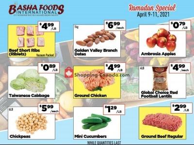 Basha Foods International Flyer Thumbnail