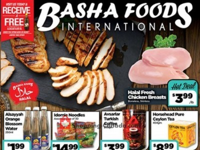 Basha Foods International Outdated Flyer Thumbnail