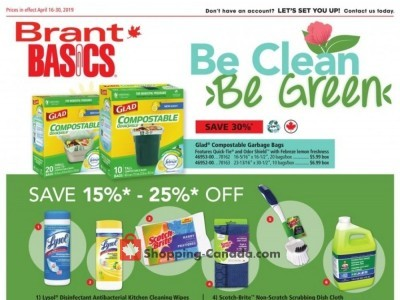 Basics Office Products Outdated Flyer Thumbnail