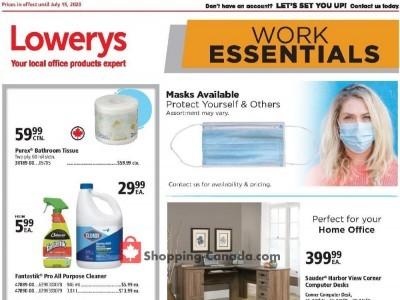 Basics Office Products Flyer Thumbnail