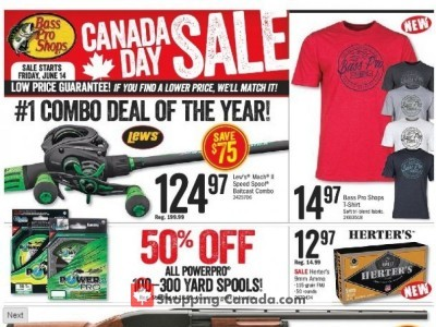 3963bf0b2a8 Bass Pro Shops Flyers, Weekly ads in Canada | Shopping Canada