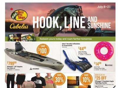 Bass Pro Shops Outdated Flyer Thumbnail