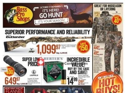 Bass Pro Shops Flyer Thumbnail