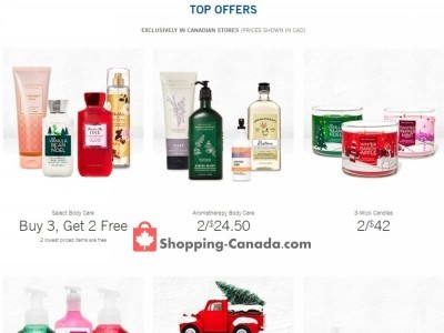 Bath & Body Works Flyer Thumbnail