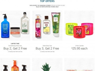 Bath & Body Works Outdated Flyer Thumbnail