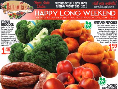 Battaglia's Marketplace Flyer Thumbnail
