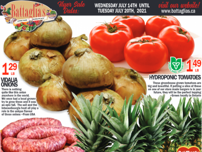 Battaglia's Marketplace Outdated Flyer Thumbnail