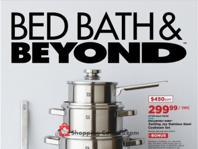 Bed Bath & Beyond Flyer Thumbnail